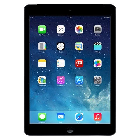 "Apple iPad Air ME991LL/B 16 GB Tablet - 9.7"" - In-plane Switching (IPS) Technology, Retina Display - Wireless LAN - AT&T - Appl"