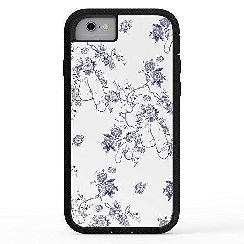 online store 96a1a e1a84 Society6 Penis Pattern Adventure Case iPhone 7