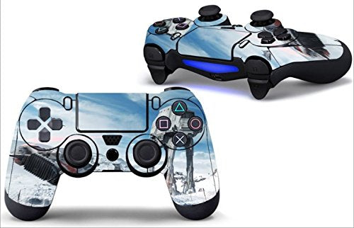 Skins for PS4 Controller - Decals for Playstation 4 Games - Stickers Cover for PS4 Slim Sony Play Station Four Controllers Pro PS4 Accessories PS4 Remote Wireless Dualshock 4 (STRWRS)