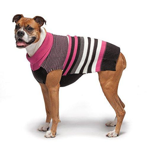 Zack & Zoey Elements Speckle Striped Sweater, X-Large