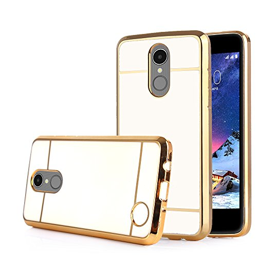 buy popular 60cf2 5c251 TabPow LG Aristo Case, Electroplate Slim Glossy Finish, Drop Protection,  Shiny Luxury Case For LG Phoenix 3 / LG K8 2017 / LG Fortune / LG Risio 2 -  ...