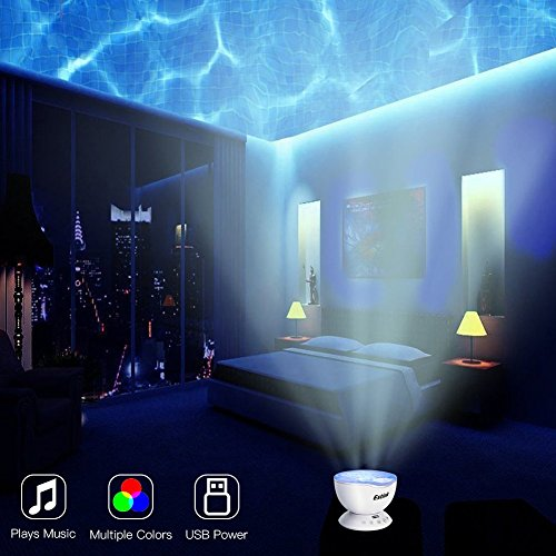 Ocean wave night light projector baby lullaby night light with 7 ocean wave night light projector baby lullaby night light with 7 relax light show projection mozeypictures Image collections