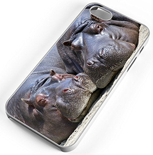 All I Want For Christmas Is A Hippopotamus.Iphone Case Fits Iphone 8 Plus 8 Hippo Hippopotamus All I Want For Christmas White Rubber