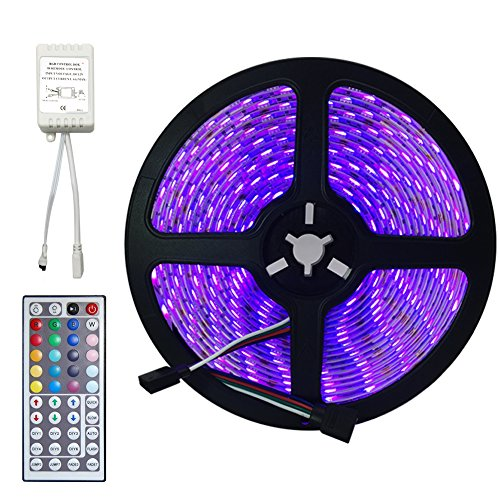 Strip Lights, Flexible Strip Lights, soled LED Tape Light 5050 RGB Color Changing LED Strip Kit, Waterproof DIY Christmas Holiday Home Party Decoration (16.4FT strip light)