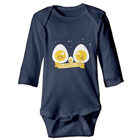 Benntoyo Baby Rompers Cute Egg Cool Unisex Baby Favourite Clothing 6 M