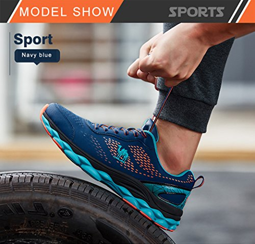 a2c51814cd8ba Camel Men's Trail Mesh Running Shoes,Athletic Casual Fashion Sneakers  Lightweight for Sport Gym Blue