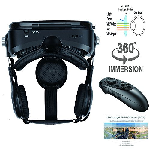 VR Headset Virtual Reality 3D Glasses Headset with VR