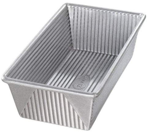 USA Pan Bakeware Aluminized Steel 1 1/4 Pound Loaf Pan