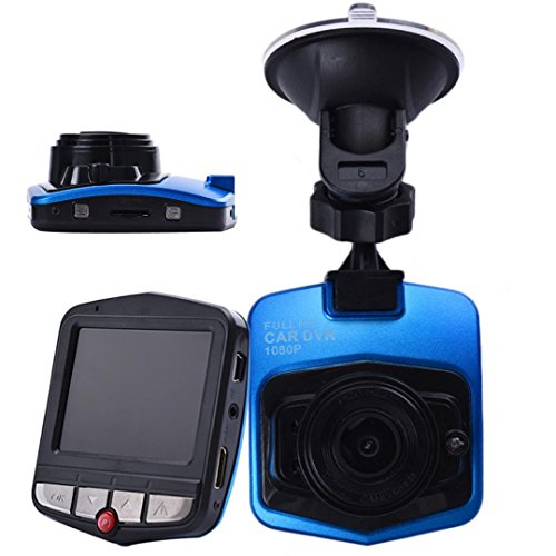 "Perman 2.4"" LCD Full HD 1080P Car DVR Vehicle Camera Video Recorder Night Vision Dash Cam G-sensor 120° Blue"