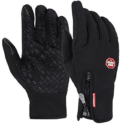 Winter gloves,URSMART Windproof Warm Touchscreen Gloves Outdoor Cycling Runnig Climbing Motorcycle Gloves For Men & Women