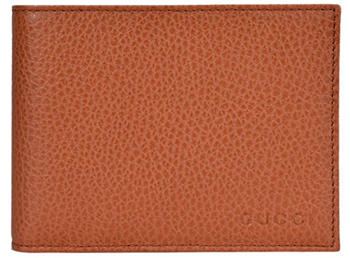 7b9ab8dc8a3f Gucci Men's Leather Bi-fold Wallet 278596 2608 Light Olive — KeeboShop