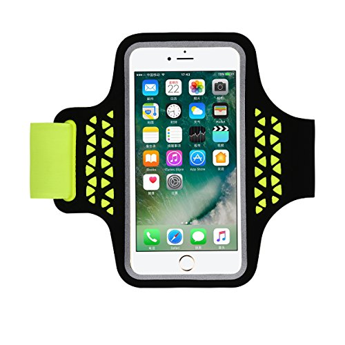 superior quality 3e6de 1bfa6 iPhone 7 Armband Case, HAISSKY Sports Running Armbands for Samsung Galaxy  S7 S6 S6 Edge S5 S4 4.7-5.2 Inch Smartphone Arm Band Case for Fitness ...