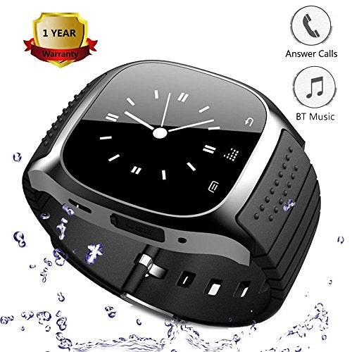 Wearable Smartwatch Bluetooth Smart Watch Touch Screen LED Light Display Watch with Dial Call Answer Music Player Smart Watches for IOS iPhone Android Smartphones Men Women Kid Festival Birthday Gift