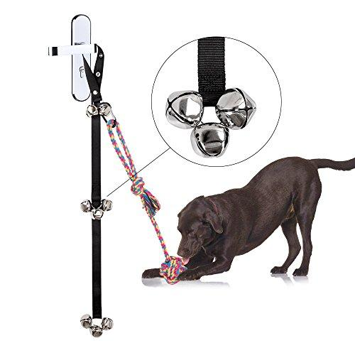 Potty Bells Dog Doorbell For Puppy Potty Training Housetraining From  Siivton Doggie Doorbell With 8 Loud