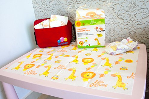 30 Large Disposable Changing Pads Mats Sanitary Baby Infant Toddler