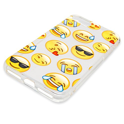 iPhone 8 / iPhone 7 Scratch Resistant Emoji Case Premium Armor Slim Fit TPU  Shockproof Anti Fingerprint Anti Slip Dual Layer