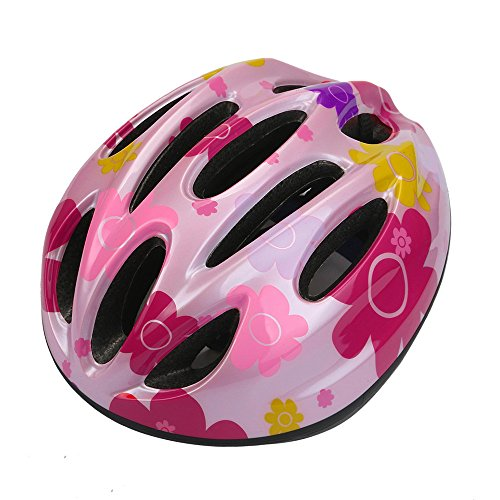 10 Vent Special Cool Ultralight Kids/Toddlers/Child Sports Mountain Road Bicycle Bike Cycling safety Helmet Multi-Sports Comfortable/Safety Helmet (Pink)