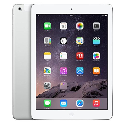 "Apple iPad Air 2 9.7"" Cellular + WiFi 64GB Tablet - White & Silver - MH2N2LL/A"