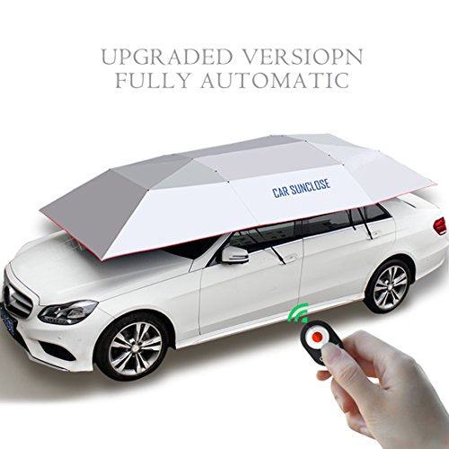 Automatic Car Umbrella Yikeshu Carport Automatic Car Tent Sun Shade