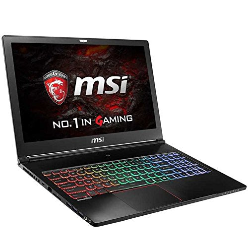 "MSI GS63VR Stealth Pro-002 15.6"" 120Hz 3ms Display Ultra Thin and Light Gaming Laptop i7-7700HQ GTX 1070 8G MAX Q 32GB 512GB SSD + 1TB Win 10 Pro RGB Keyboard VR Ready"