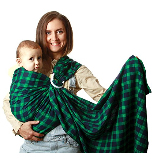 Premium Sling Baby Carrier Baby Wrap Ring Sling Baby Carrier