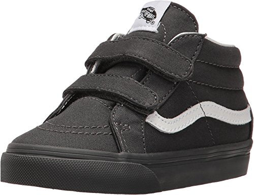 6df462aa91e1 Vans Infant Toddlers Shoes SK8-Mid Reissue Velcro (Mono) Gray Fashion  Sneakers