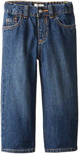 The Children's Place Little Boys and Toddler Loose Fit Jean, Medium Classic, 5T