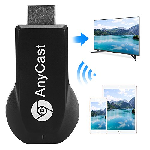 Miracast Wireless Display Adapter,Iphone Dongle 1080P Hdmi,TV Receiver Stick,Toneseas Streaming Media Player,Airplay DLNA for Ipad Macbook Laptop Samsung Android Smart Phones - Business Gift