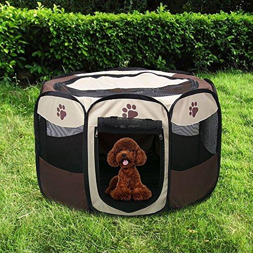 High Quality Puppy Playpen Portable Pet Playpen Waterproof Animal Pen Rabbit Pen  Foldable Cat Playpen Dog Playpen Airflow