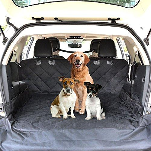 Ecoastal Cargo Liner For Dogs Trunk Waterproof Free SUV Pet Barrier Dog Car