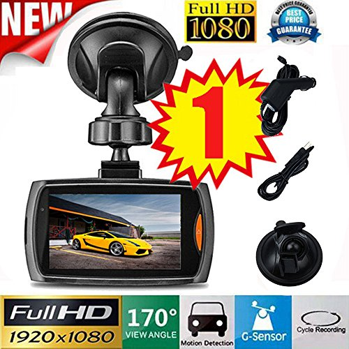"OUBAO Car 1080P 2.2""/2.4'' Full HD DVR Vehicle Camera Dash Cam Video Recorder G-sensor Night Vision (1x Car/2.2)"