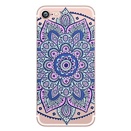 Iphone 5 5s Se Colorful Decorative Flora Colorful Rubber