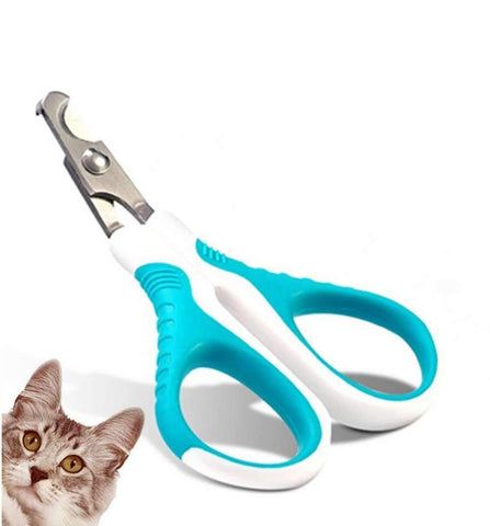 Cat Nail Clippers Trimmer – Safe,Professional, Sharp Angled Blade - Non-Slip Handle - Cat Dog Nail Clippers Scissors - For Small Dogs, Cats, Rabbits - Easy At Home Grooming,,KeeboVet Veterinary Ultrasound Equipment,KeeboVet Veterinary Ultrasound Equipment.