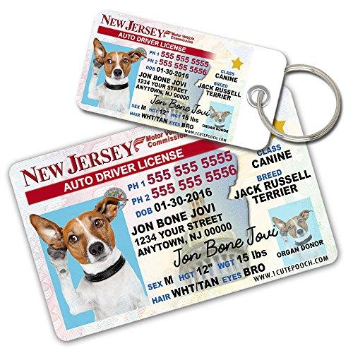 1df322fa7ae5 Jersey Wallet Tags Custom Card Keeboshop Dog Driver For Licence 2 And Pets  New ...