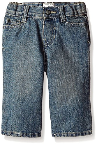 The Children's Place Little Boys and Toddler Bootcut Jean, River, 4T