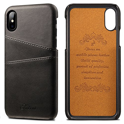 58f21db09fe BENIMIL iPhone 6/6S/6S+/7/7+/8+/X Leather Card Case,Phone Case Ultra ...