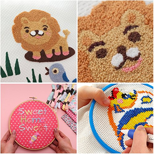 Magic Embroidery Pen Punch Needleembroidery Pen Setembroidery