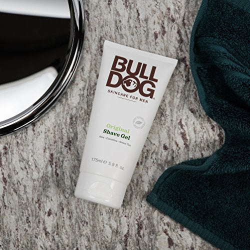 Bulldog Skincare and Grooming For Men Original Shave Gel, 5.9 Ounce