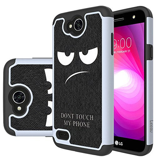 info for 39db5 97fd8 LG X Charge Case, LG Fiesta LTE Case, LG X Power 2 (2017) Case, LEEGU  [Shock Absorption] Dual Layer Heavy Duty Protective Silicone Plastic Cover  ...