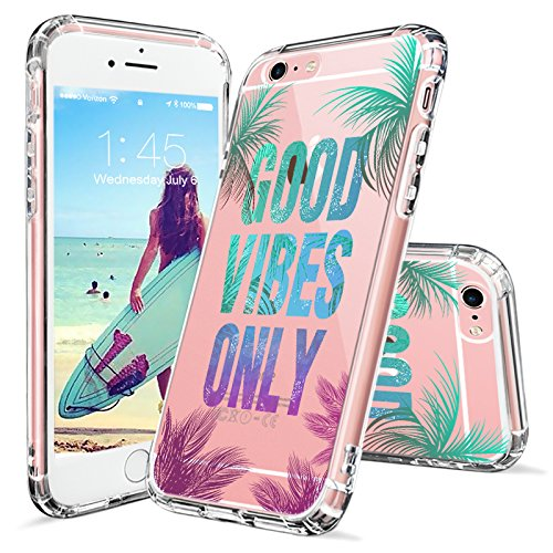 Iphone 6s Plus Case Iphone 6 Plus Clear Case Mosnovo Good Vibes