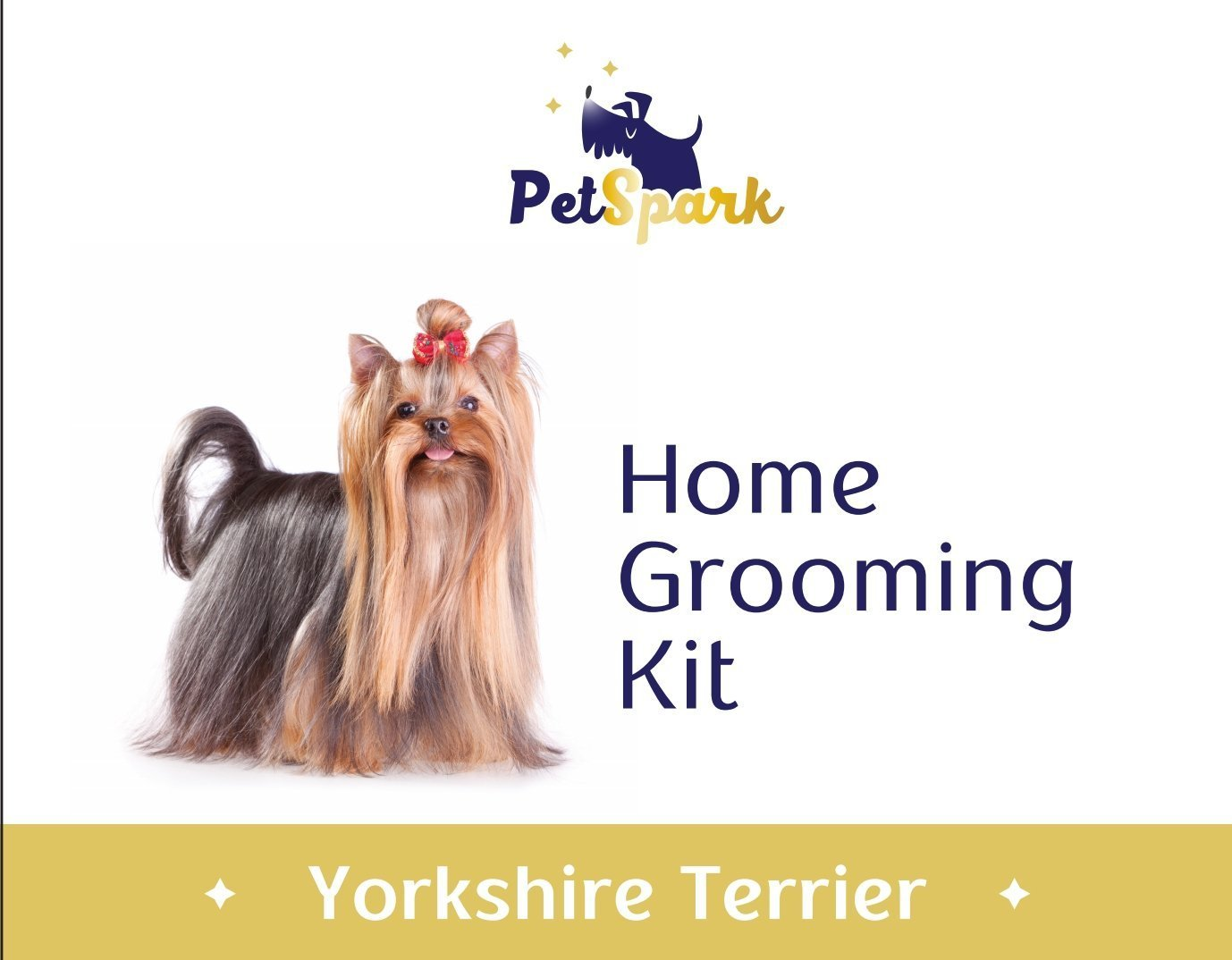 Petspark Home Grooming Kit For Yorkshire Terrier Special Design Set