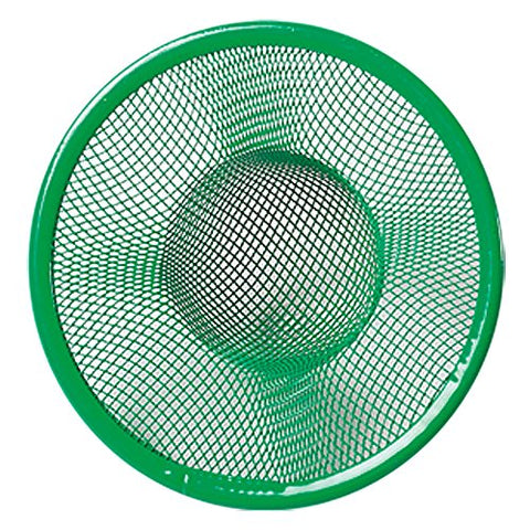 Parve Green Mesh Sink Strainer - Prevent Clogs and Stoppage in Kitchen Sink - Color Coded Kitchen Tools by The Kosher Cook