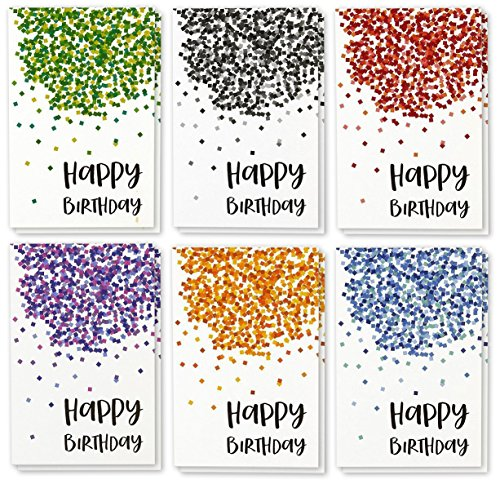 Happy Birthday Greeting Cards Bulk Box Set