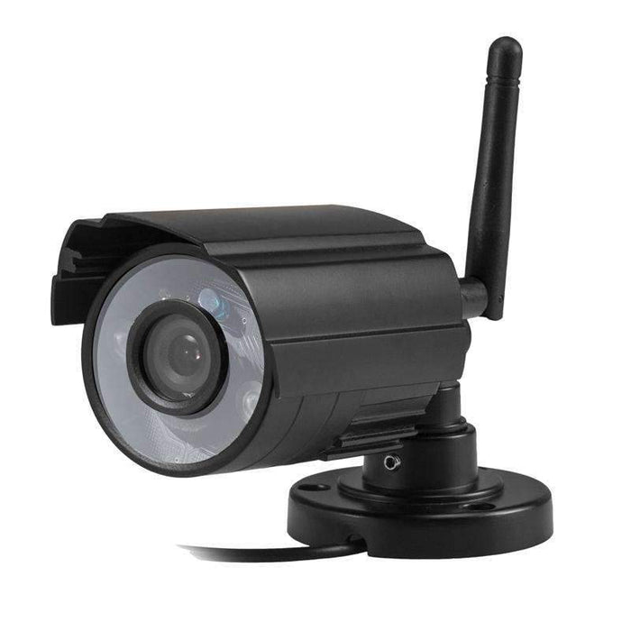 7 Inch 2 4G WiFi wireless Digital cctv Security Camera system outdoor IR  camera 4CH LCD DVR baby monitor sd card motion detect