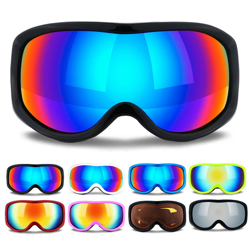 Uniquebella Lagopus OTG Ski Goggles Anti-fog Polarized UV400 Protection Snow Glasses Helmet compatible for Snowboard Skiing Skate Motorcycle Bicycle Riding for Adult and children