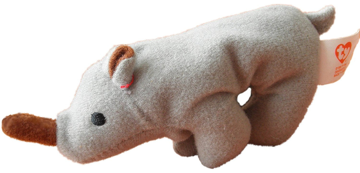 a22d4f252fe TY Teenie Beanie Babies Spike the Rhino Stuffed Animal Plush Toy by Unknown