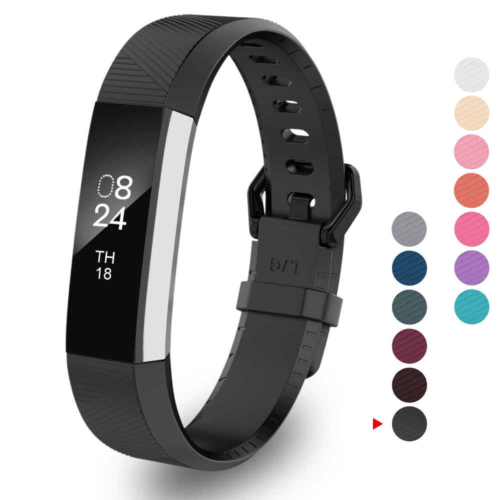GreenInsync Fitbit Alta Bands and Fitbit Alta HR Bands, Newest Adjustable  Sport Strap Replacement Bands for Fitbit Alta/Fitbit Alta HR/Fitbit Ace