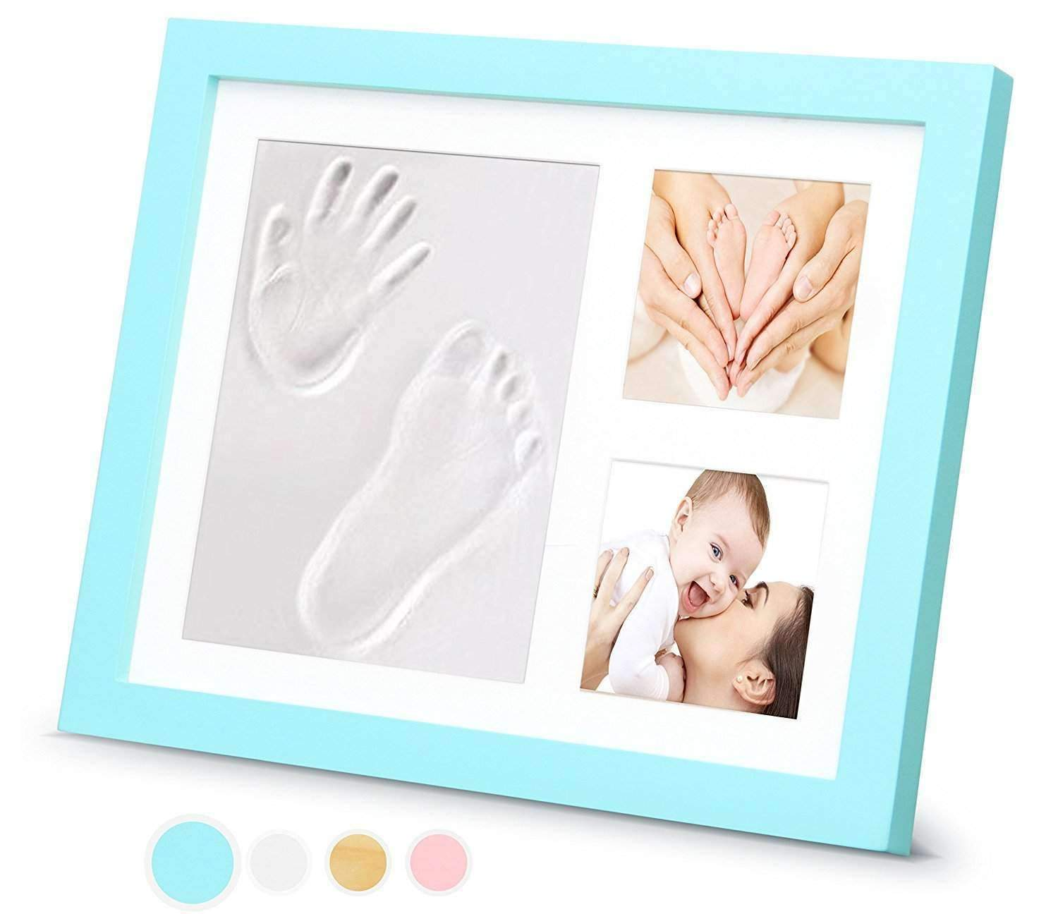 Timeless Newborn Baby Hand and Footprint Kit and Frame – Adorable ...