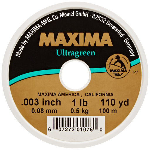Maxima Fishing Line Mini Pack, Ultragreen