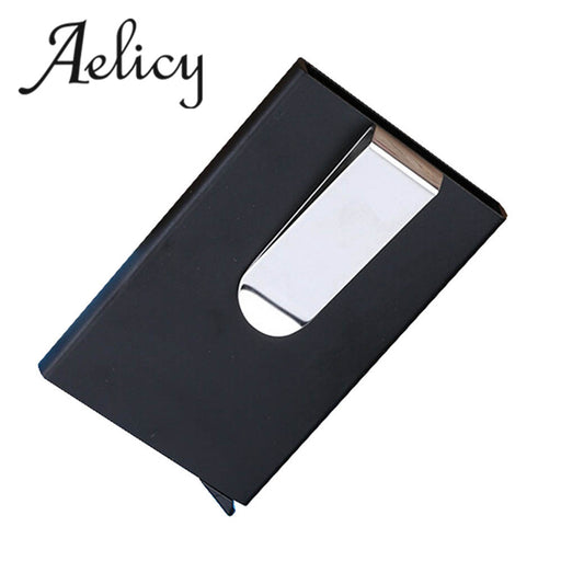 Aelicy Luxury  Men Women Aluminum Slim ID Credit Card Protector Holder Purse Wallet Portefeuille Femme Womens Wallets And Purses